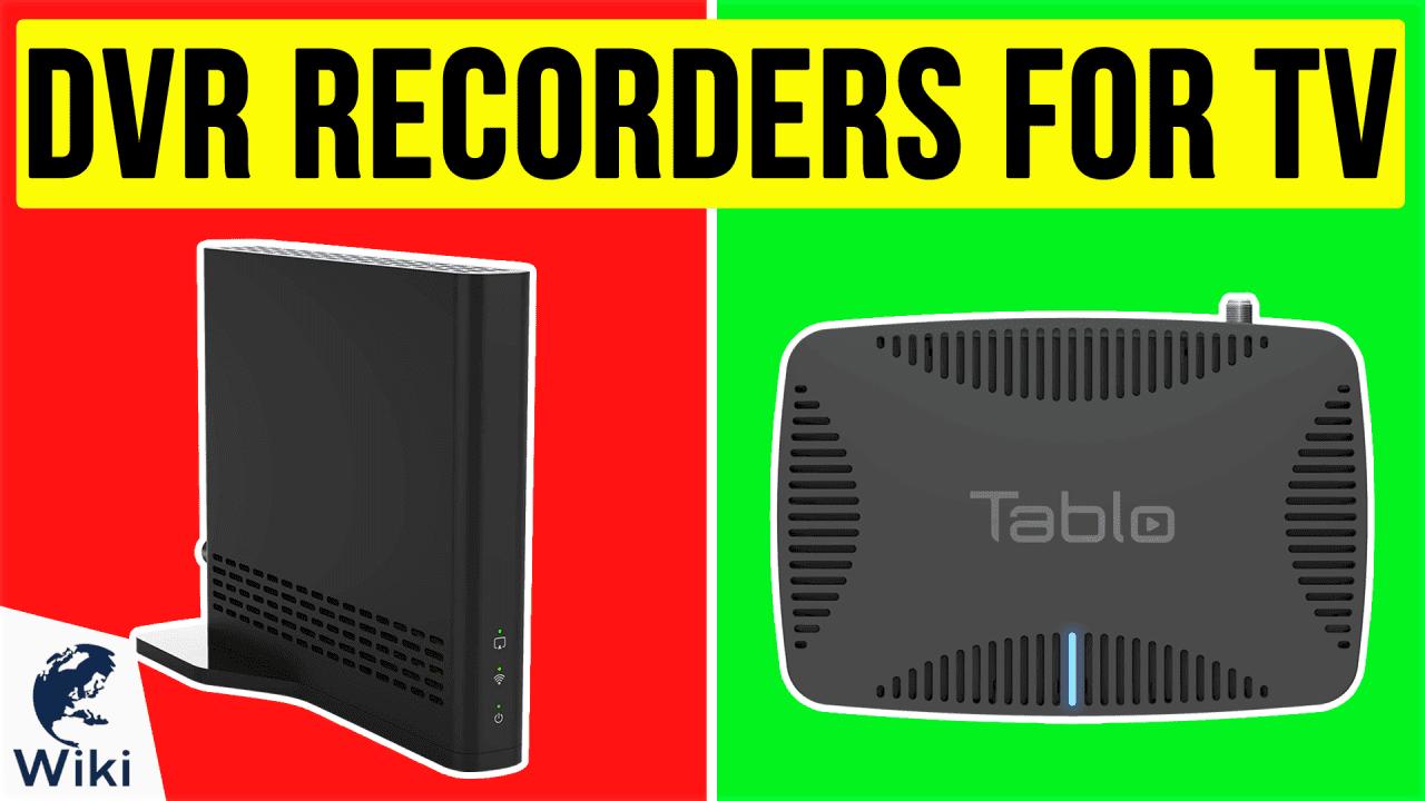 6 Best DVR Recorders For TV