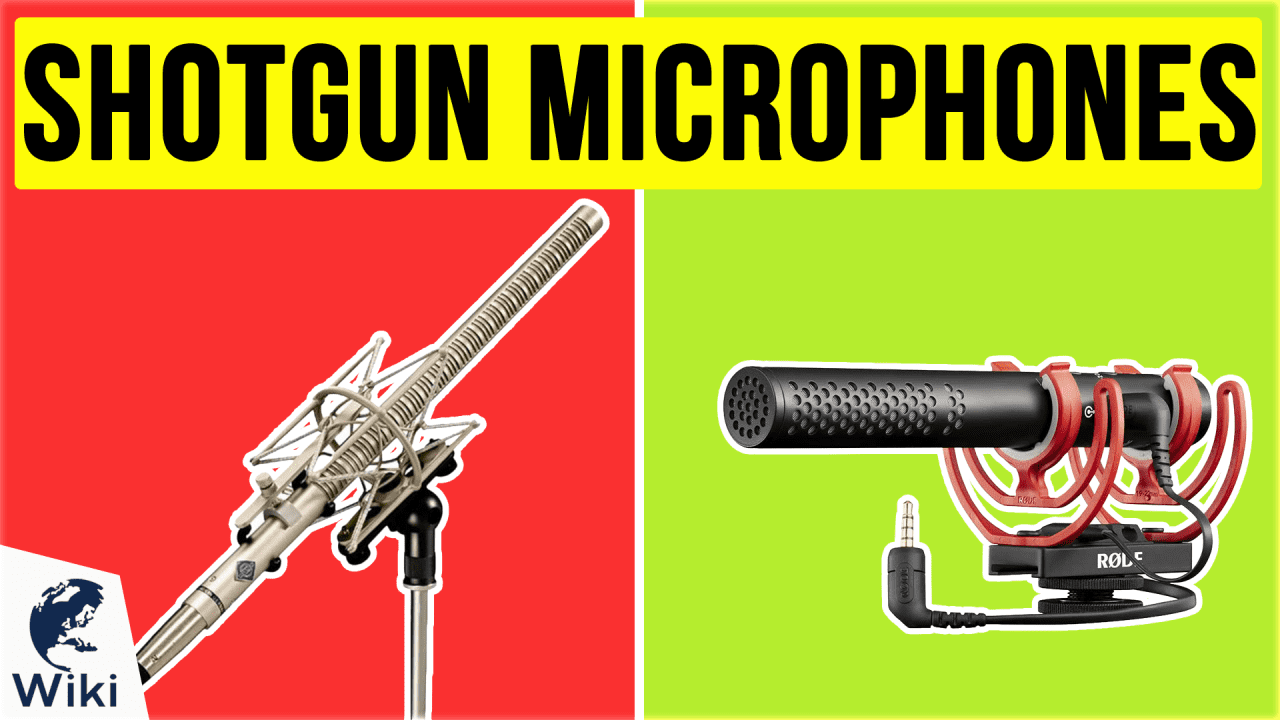 10 Best Shotgun Microphones
