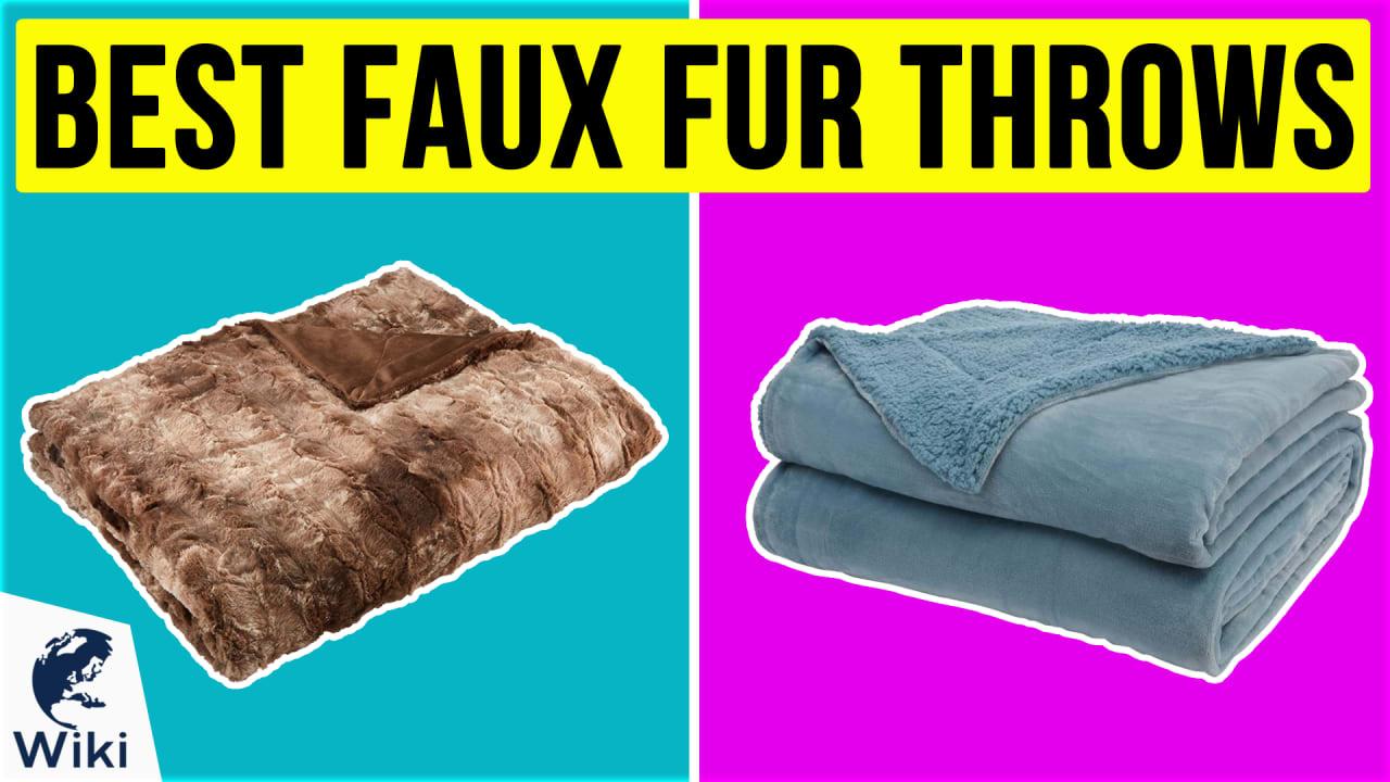 10 Best Faux Fur Throws