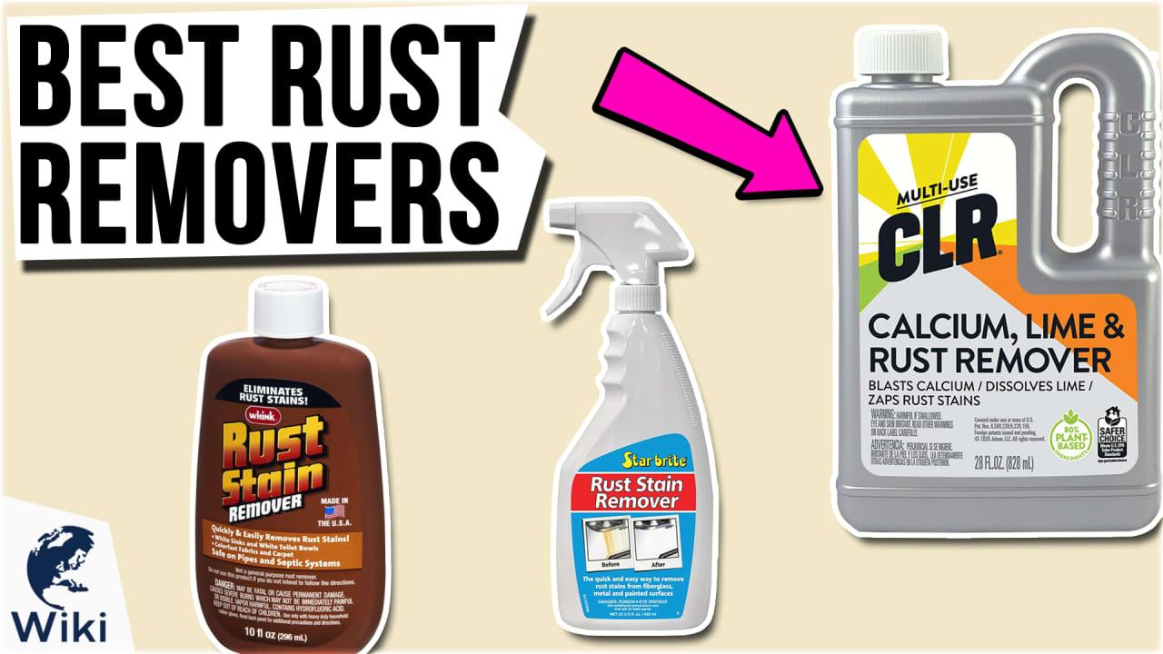 10 Best Rust Removers