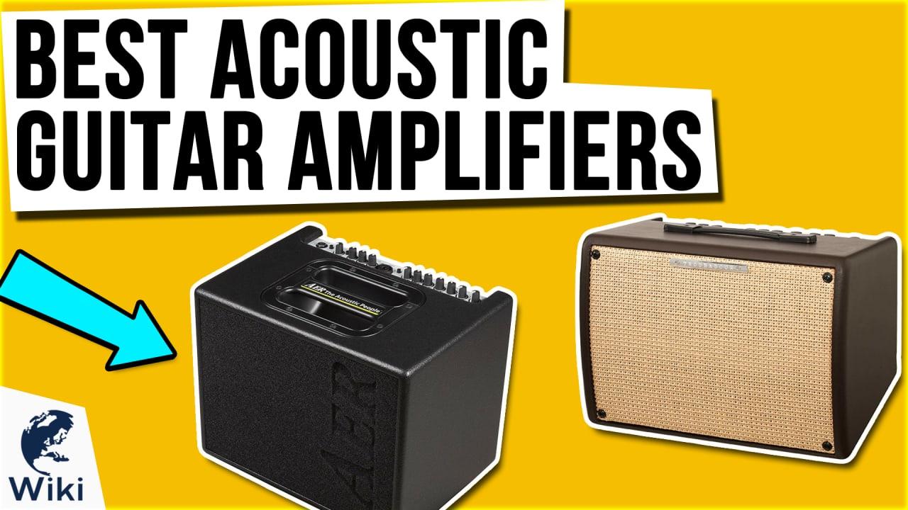 10 Best Acoustic Guitar Amplifiers