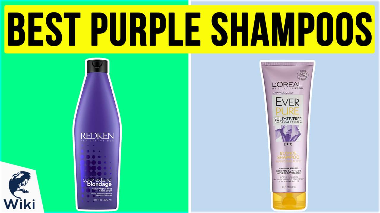 10 Best Purple Shampoos