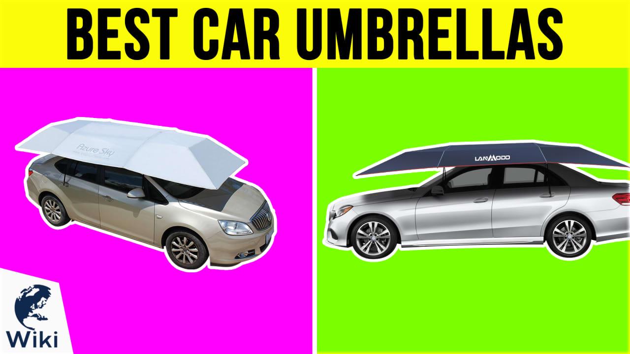 6 Best Car Umbrellas