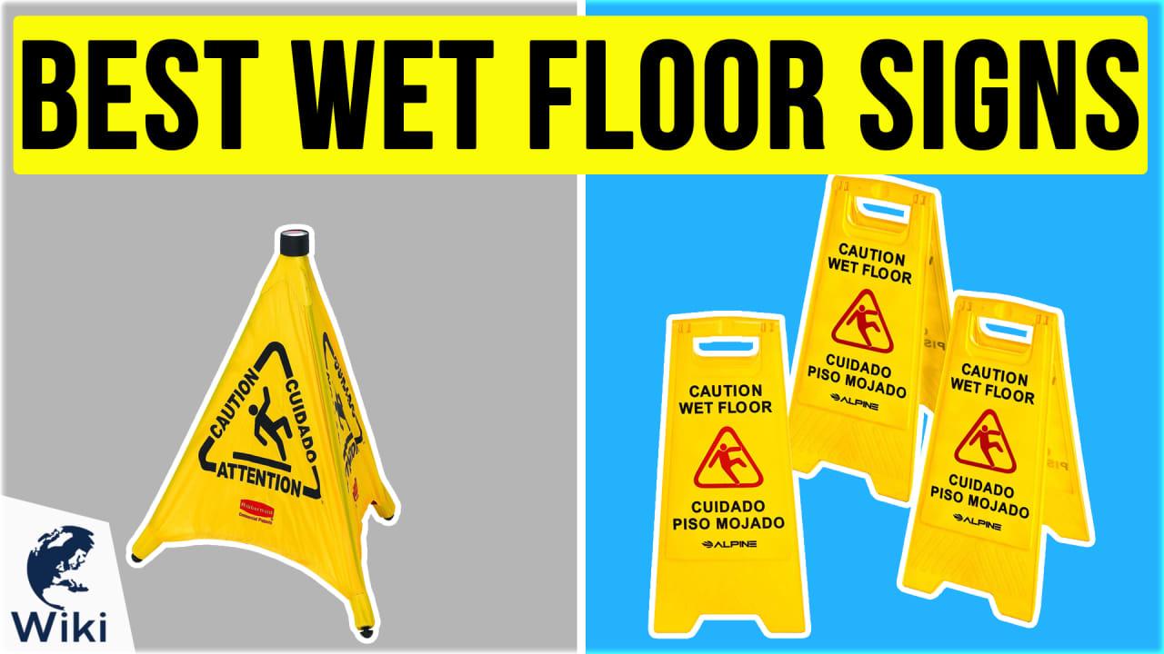 10 Best Wet Floor Signs