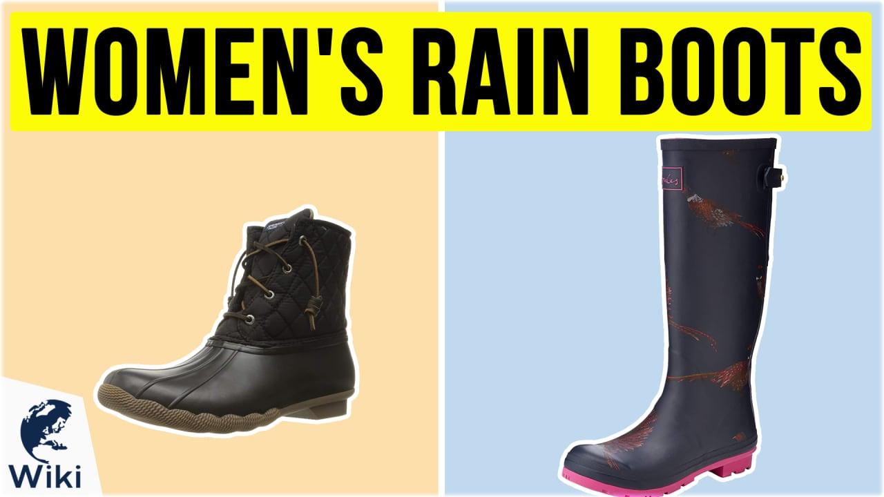 10 Best Women's Rain Boots