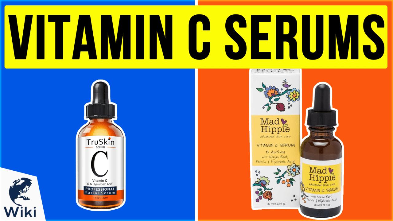10 Best Vitamin C Serums