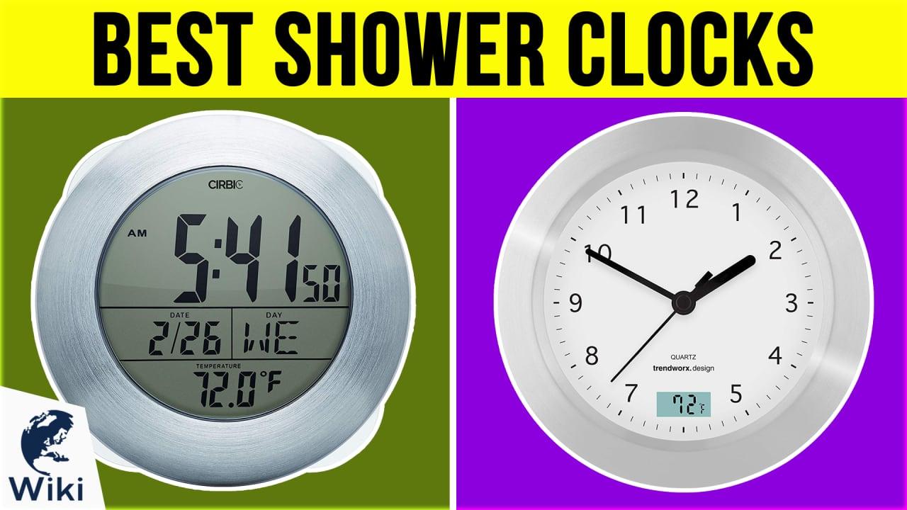 7 Best Shower Clocks