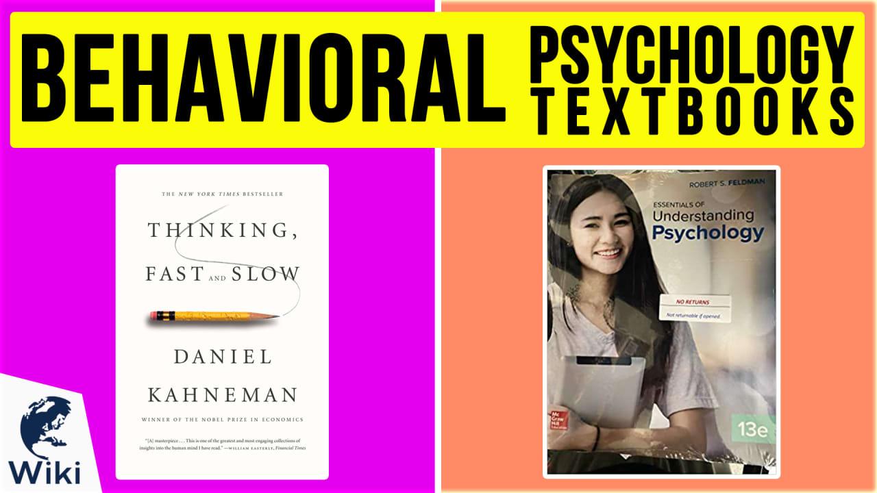 10 Best Behavioral Psychology Textbooks