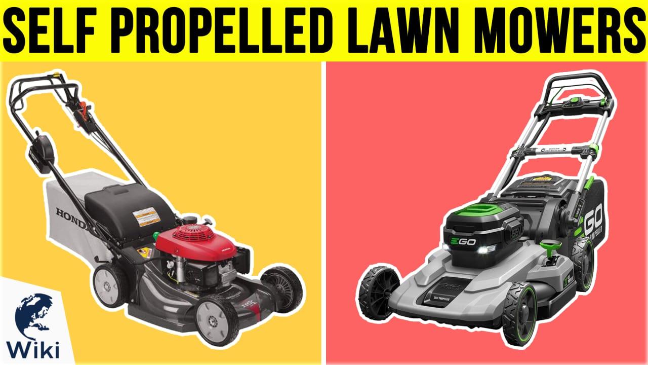 10 Best Self Propelled Lawn Mowers