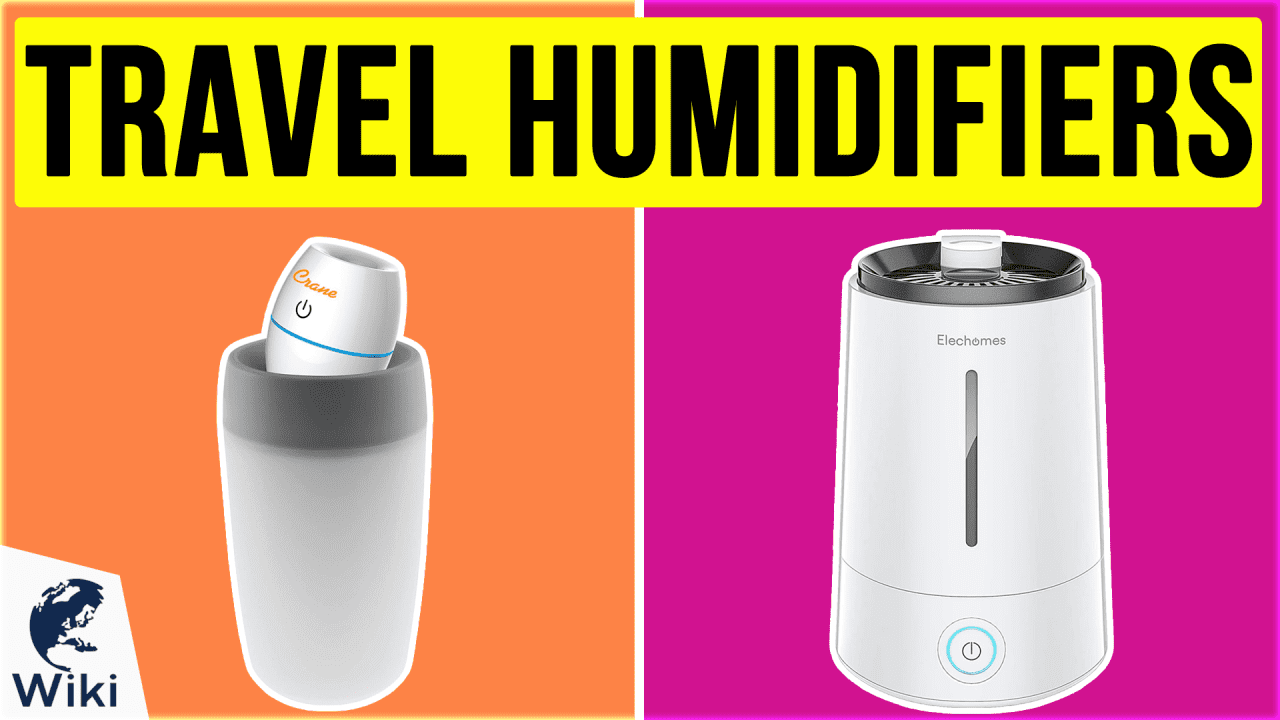 10 Best Travel Humidifiers