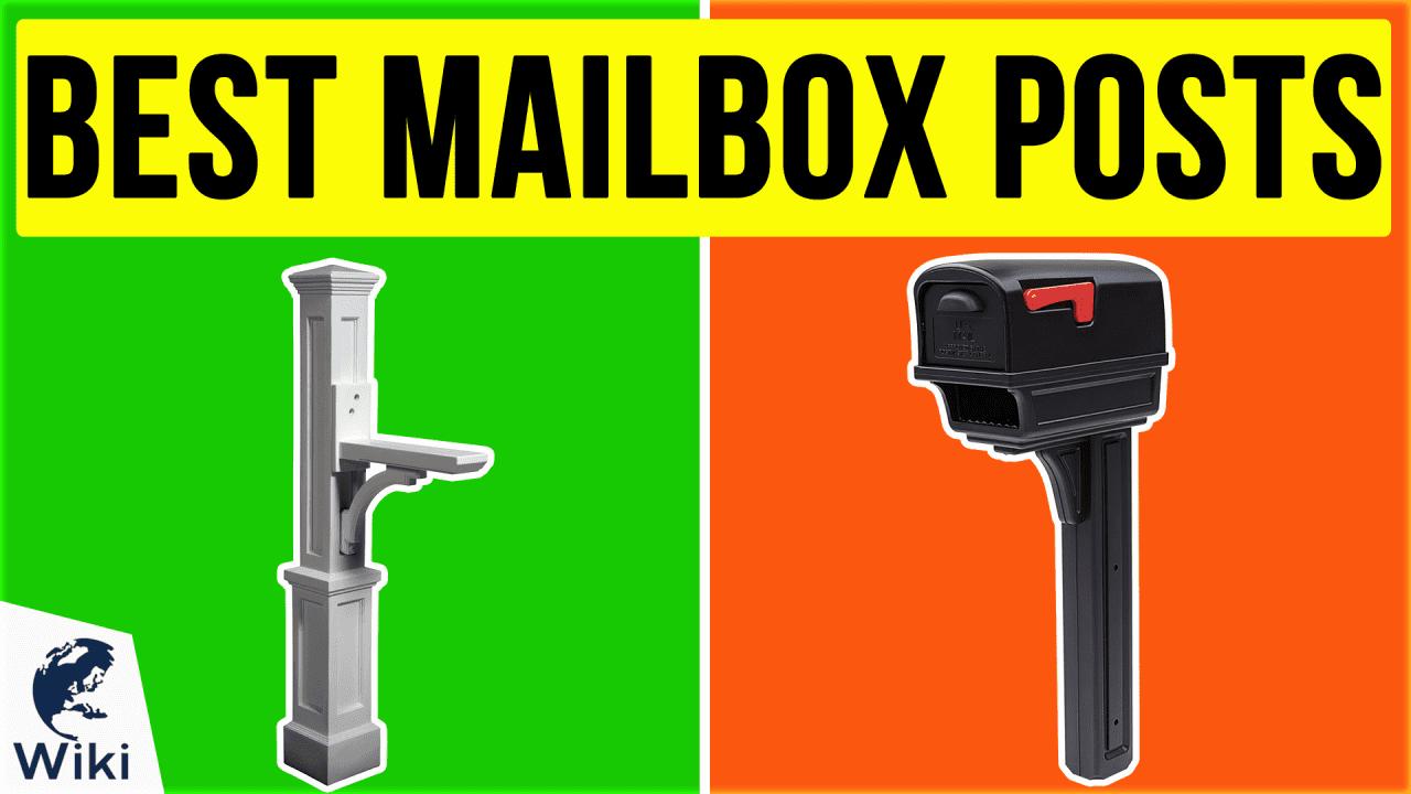 9 Best Mailbox Posts