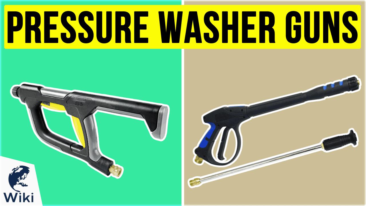 10 Best Pressure Washer Guns