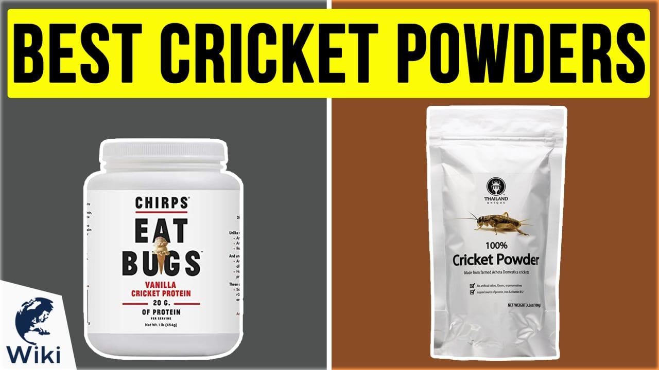 8 Best Cricket Powders