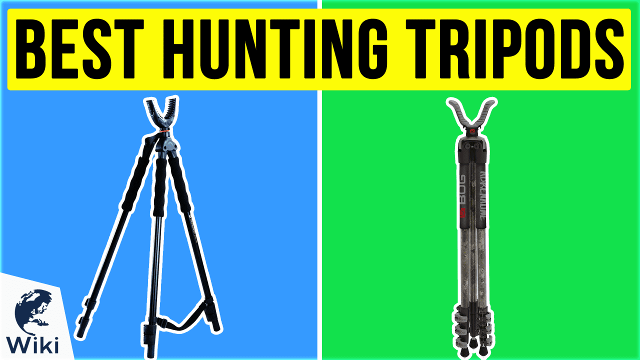 8 Best Hunting Tripods