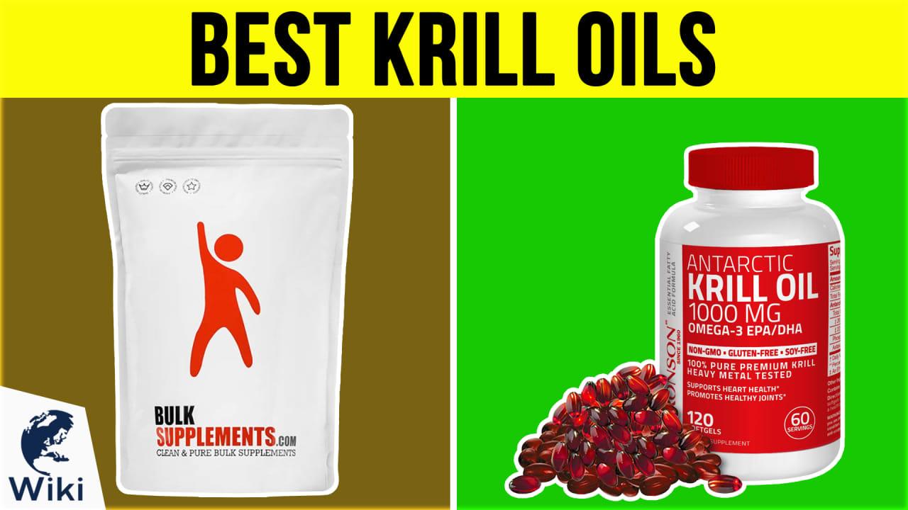 10 Best Krill Oils