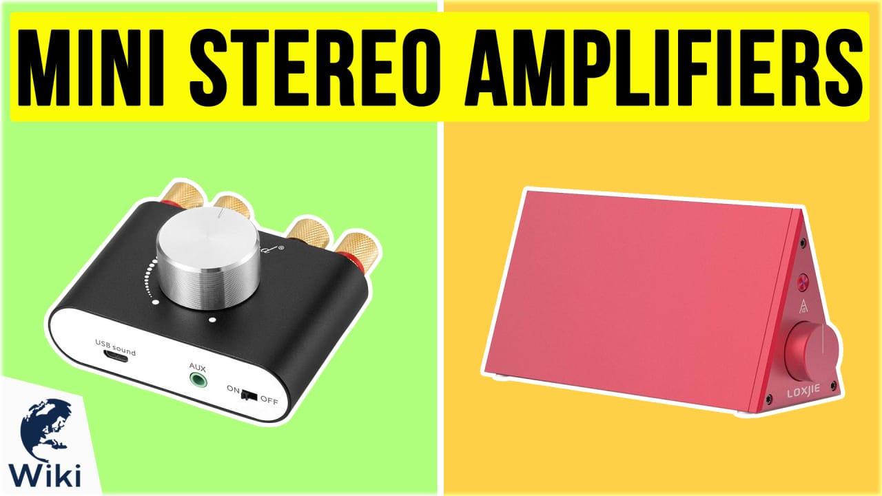 10 Best Mini Stereo Amplifiers