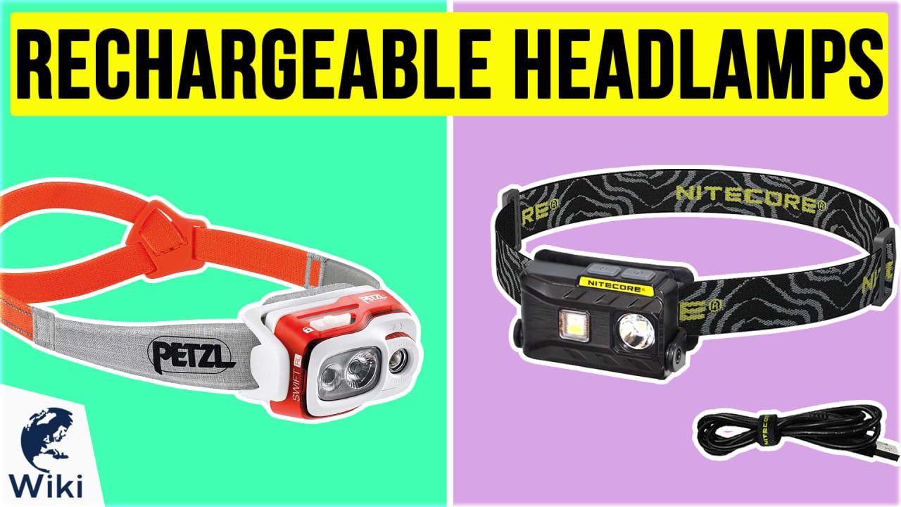 10 Best Rechargeable Headlamps