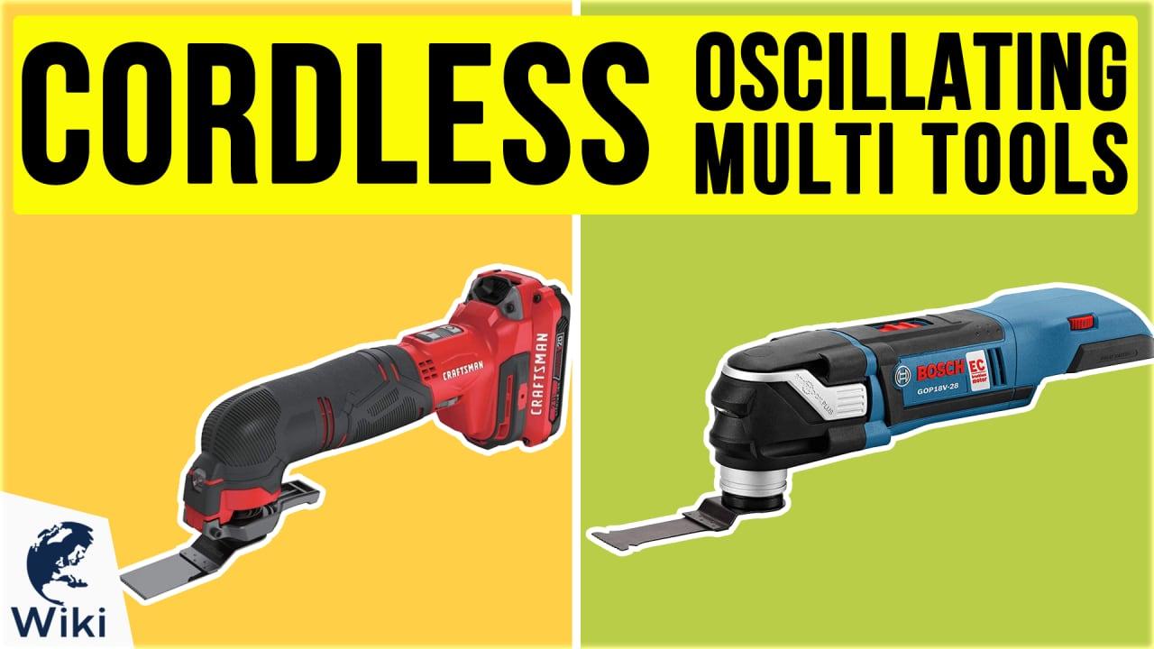 10 Best Cordless Oscillating Multi Tools