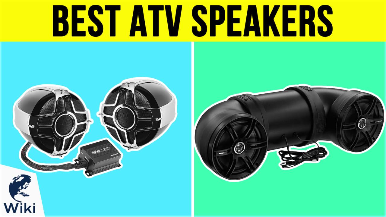 10 Best ATV Speakers