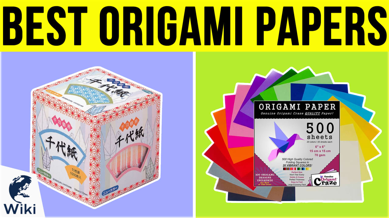 10 Best Origami Papers