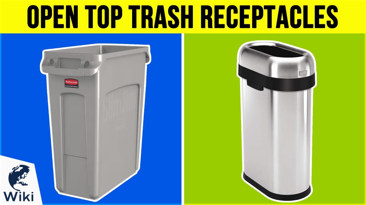 10 Best Open Top Trash Receptacles