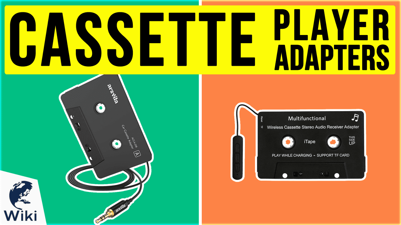 8 Best Cassette Player Adapters