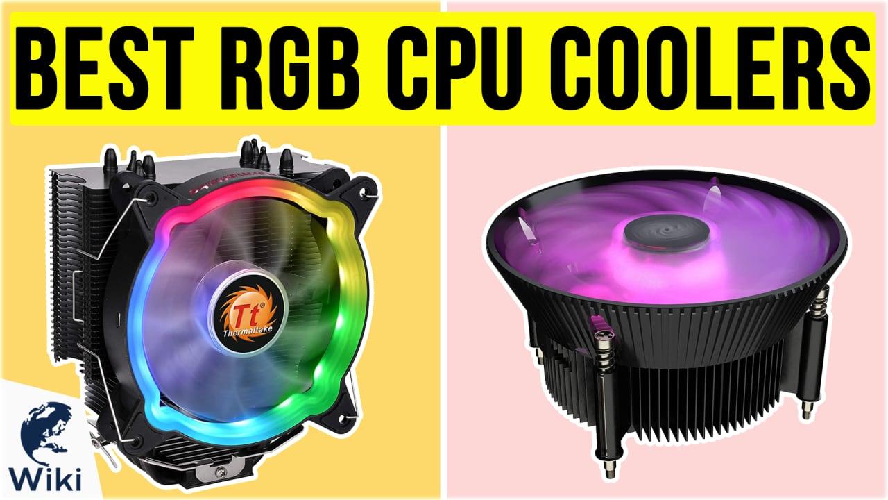 10 Best RGB CPU Coolers
