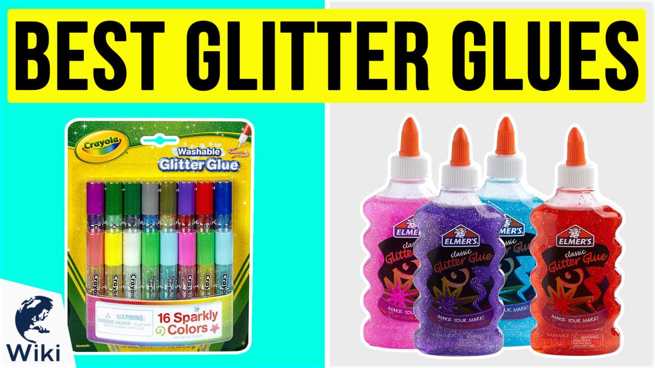 10 Best Glitter Glues