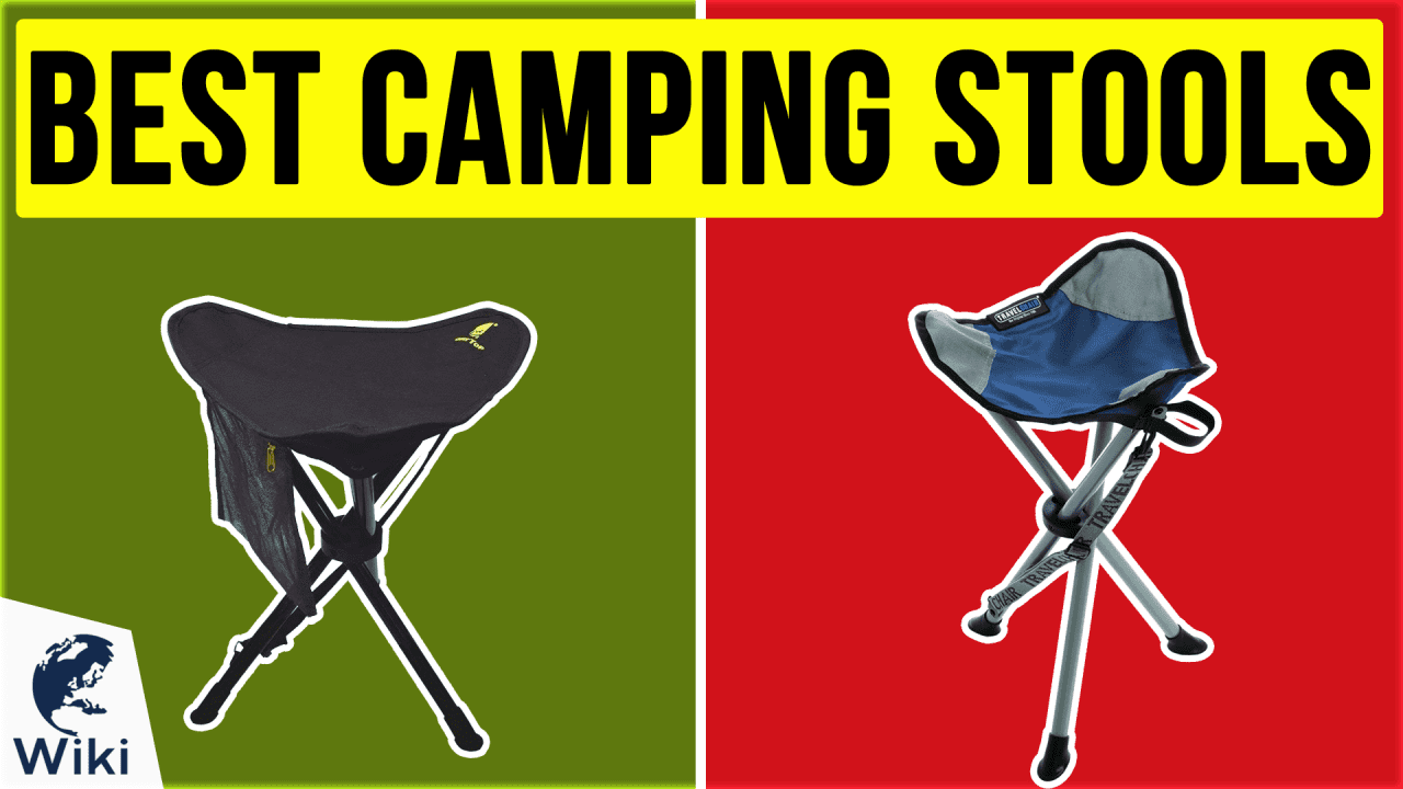 9 Best Camping Stools