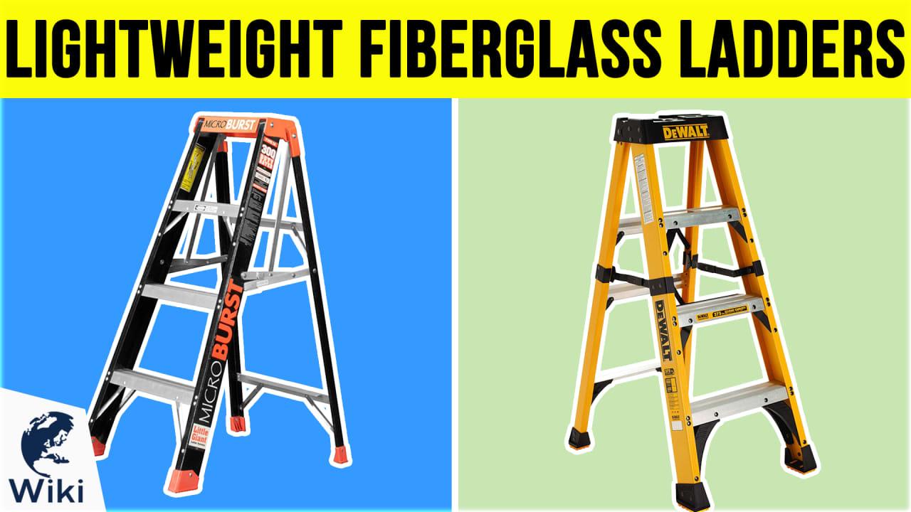 10 Best Lightweight Fiberglass Ladders