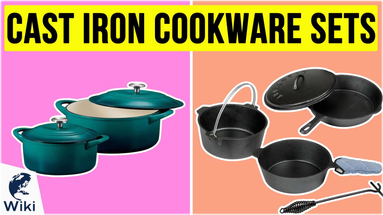 10 Best Cast Iron Cookware Sets