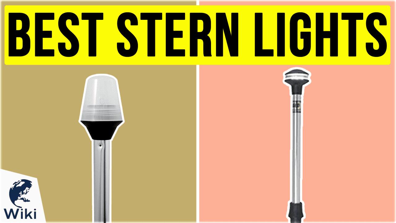 10 Best Stern Lights
