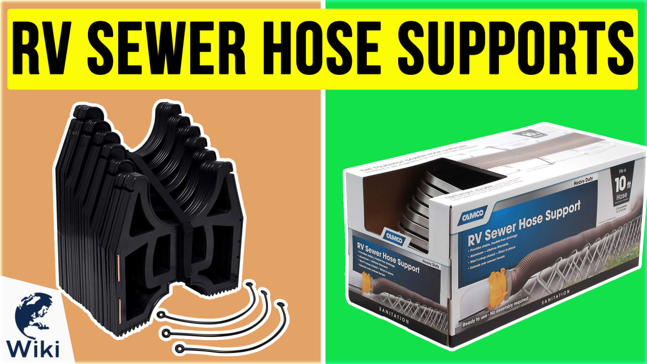 6 Best RV Sewer Hose Supports