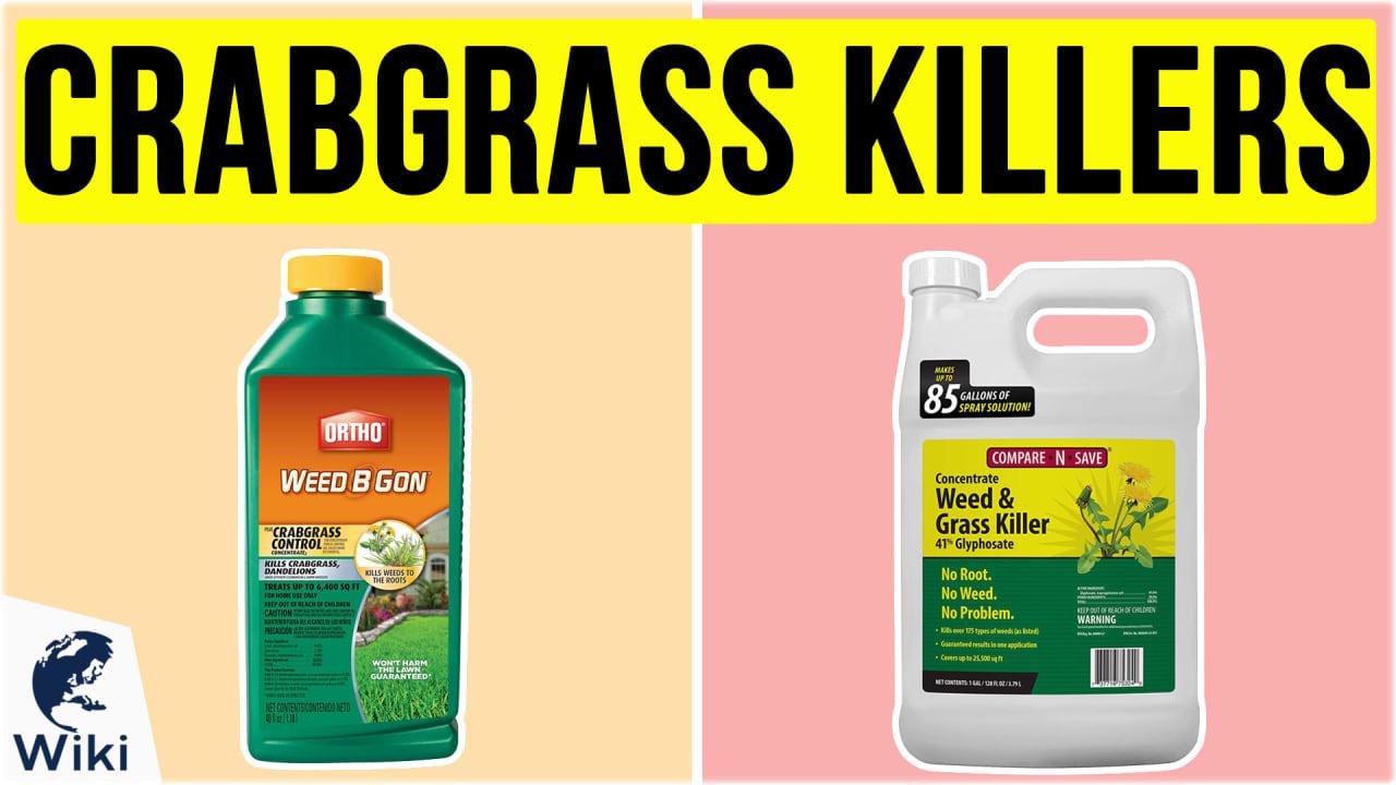 10 Best Crabgrass Killers