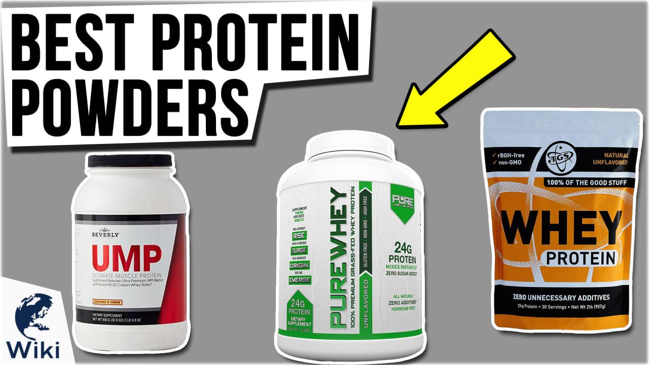 10 Best Protein Powders