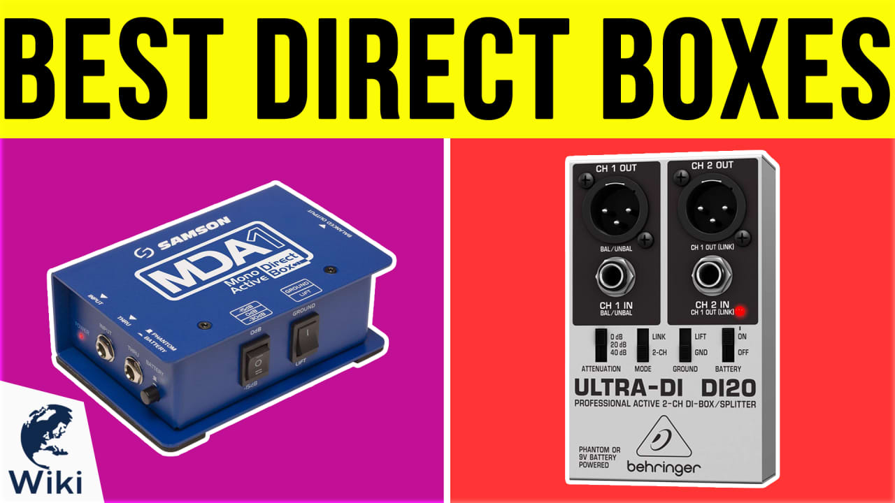10 Best Direct Boxes