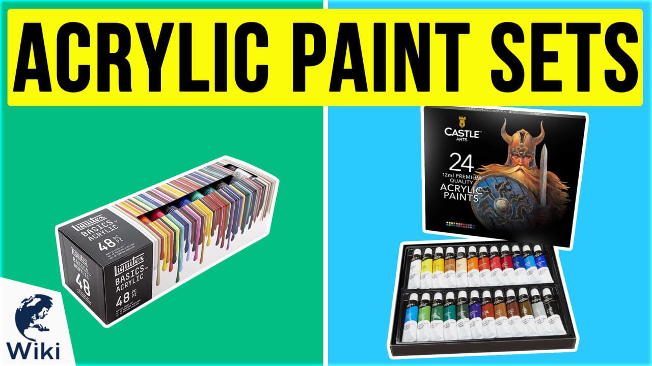 10 Best Acrylic Paint Sets