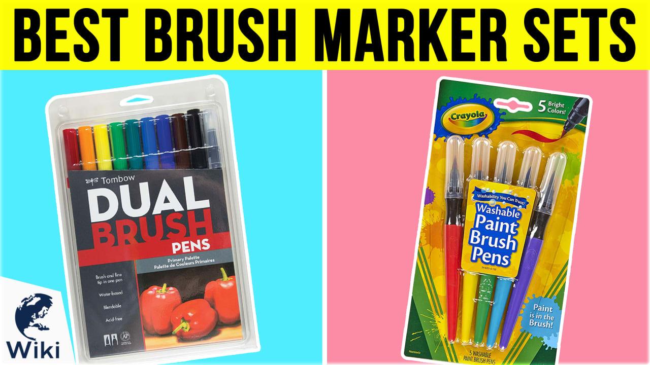 10 Best Brush Marker Sets
