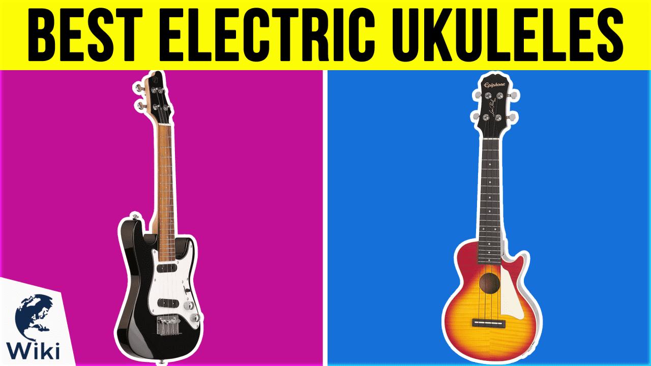10 Best Electric Ukuleles