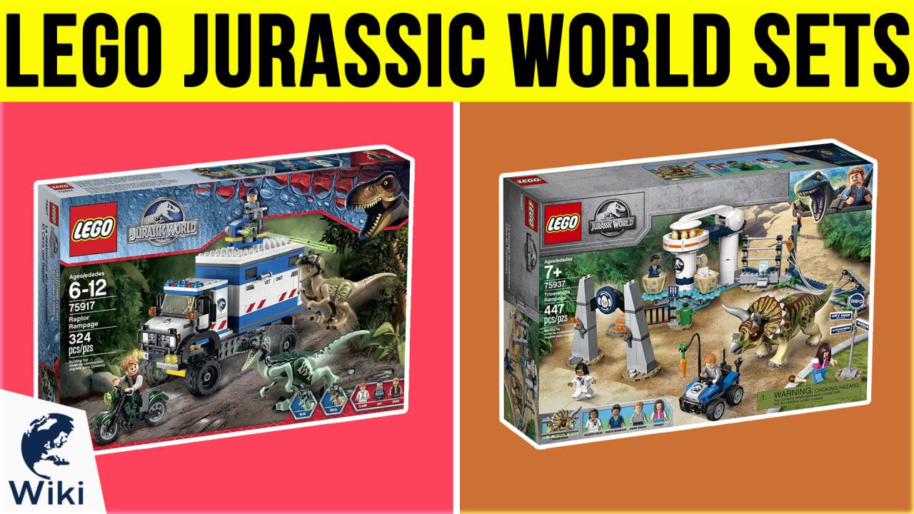 10 Best Lego Jurassic World Sets