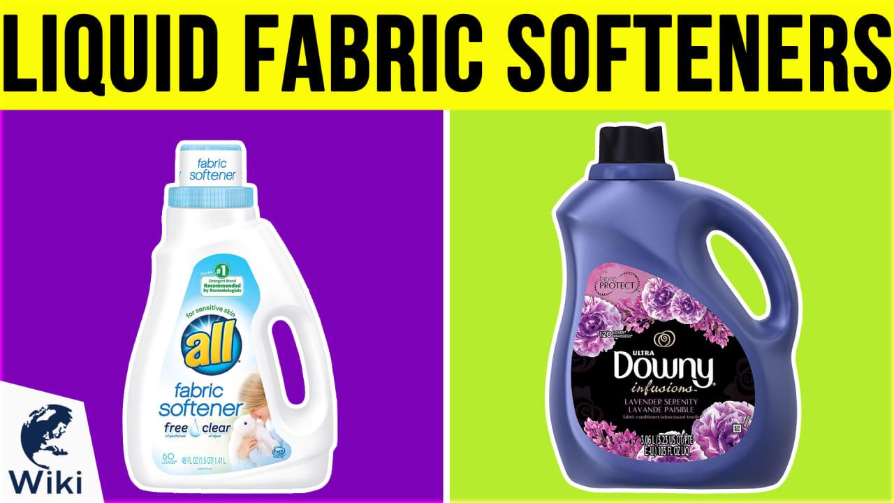 10 Best Liquid Fabric Softeners