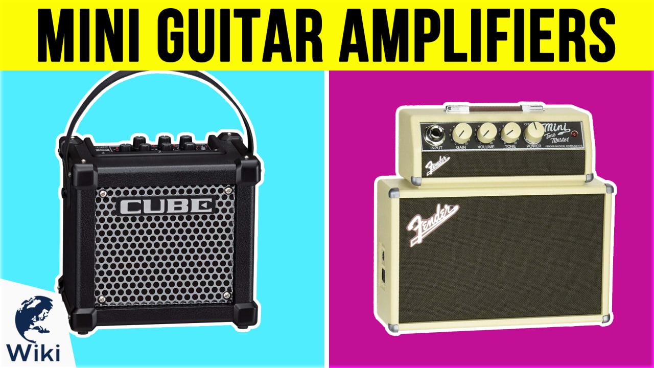 10 Best Mini Guitar Amplifiers