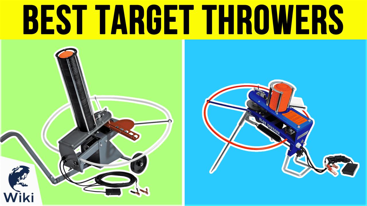 10 Best Target Throwers