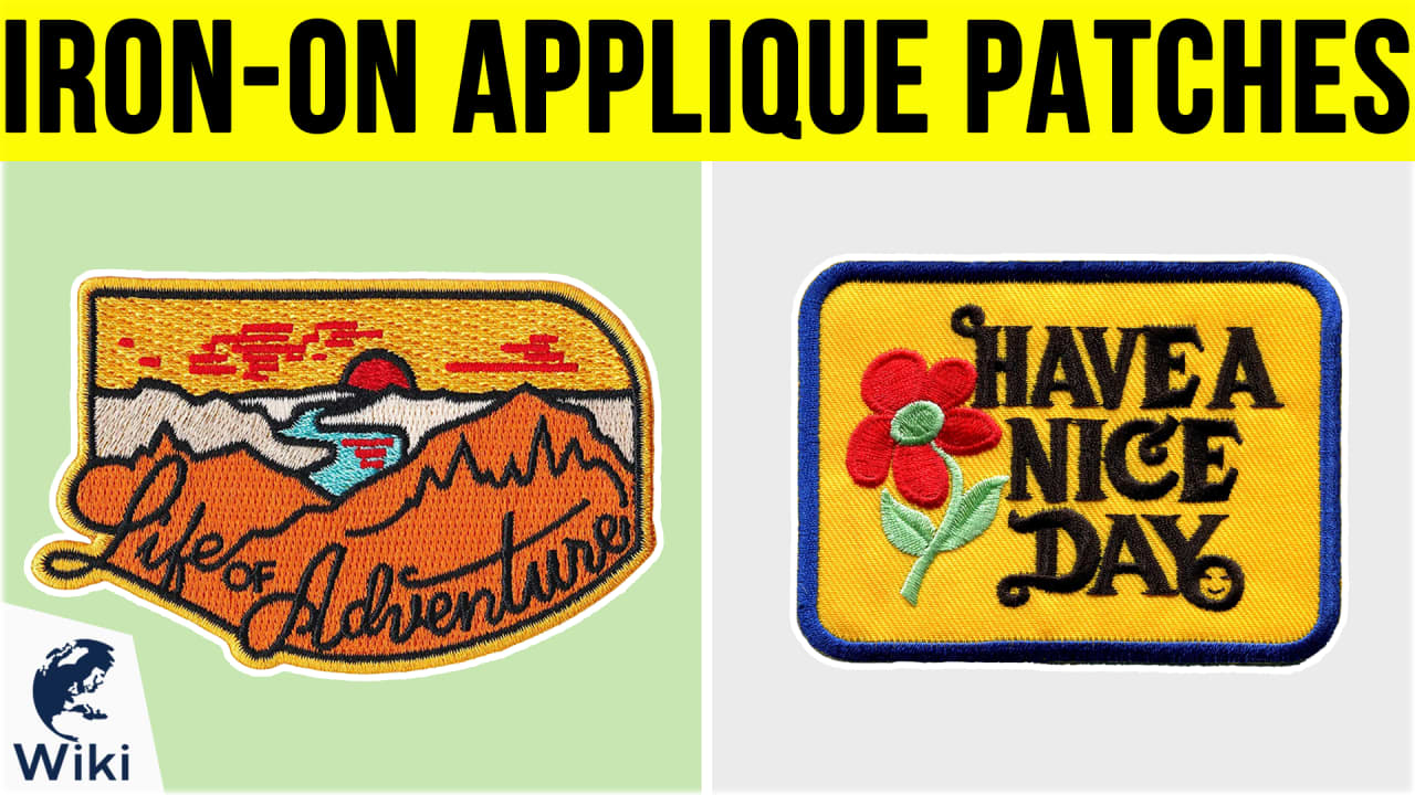 10 Best Iron-On Applique Patches