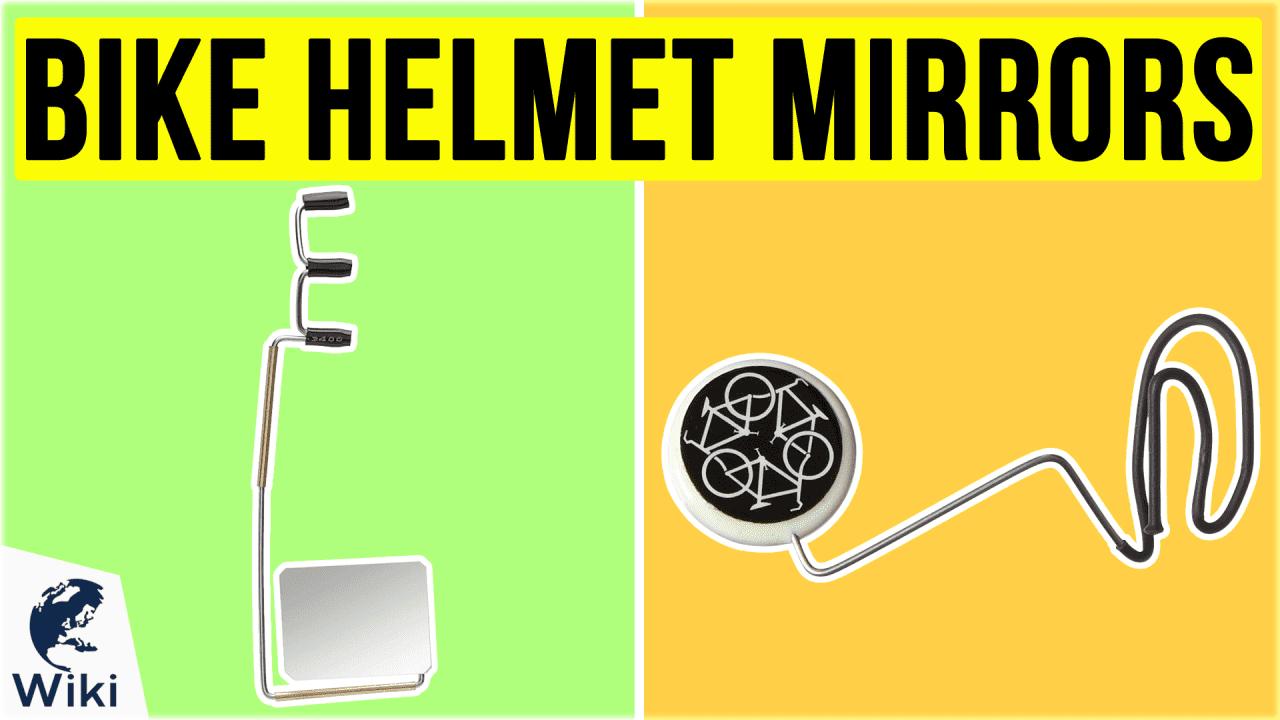 8 Best Bike Helmet Mirrors