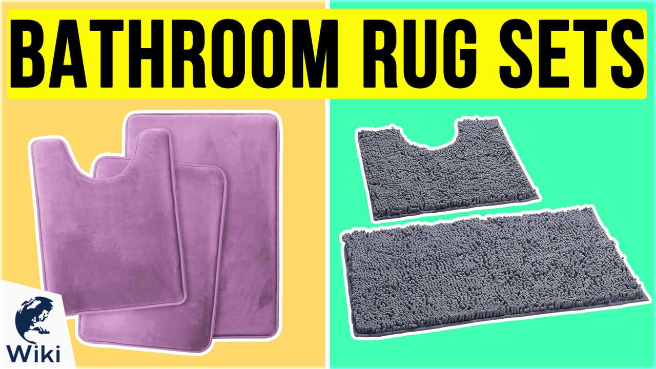 10 Best Bathroom Rug Sets