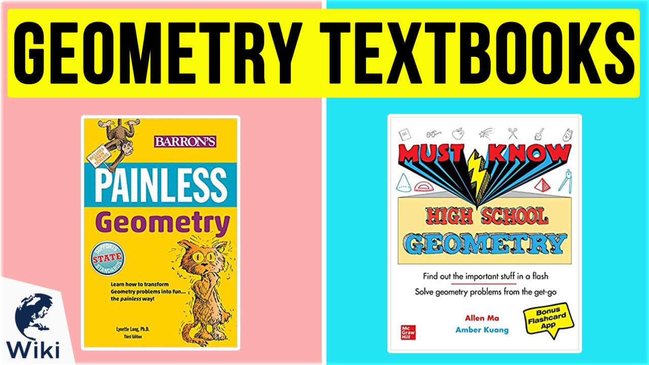 10 Best Geometry Textbooks