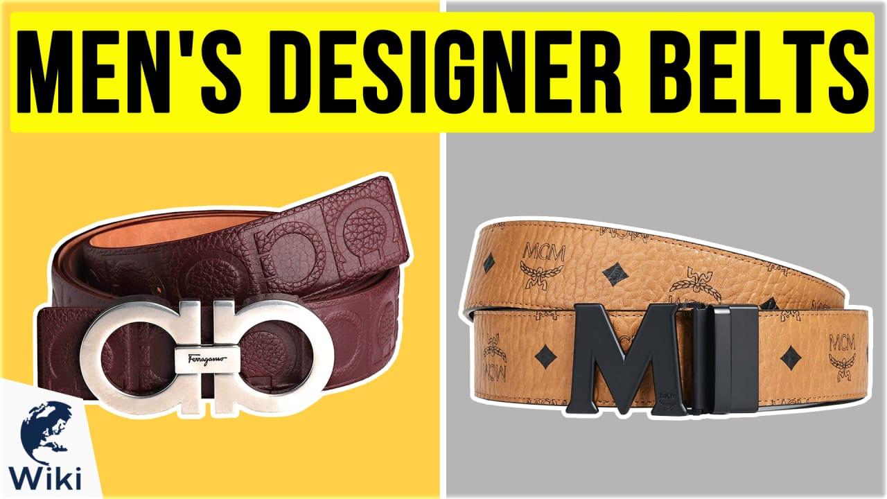 10 Best Men's Designer Belts