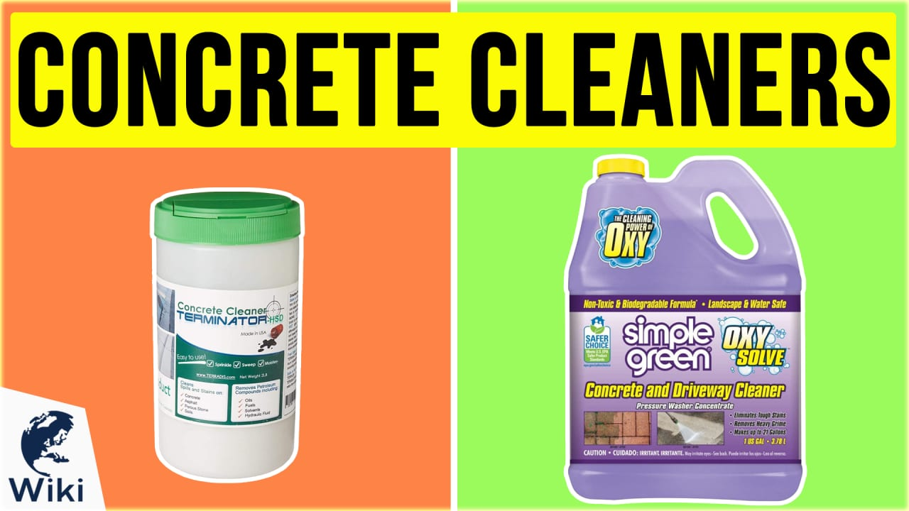 10 Best Concrete Cleaners
