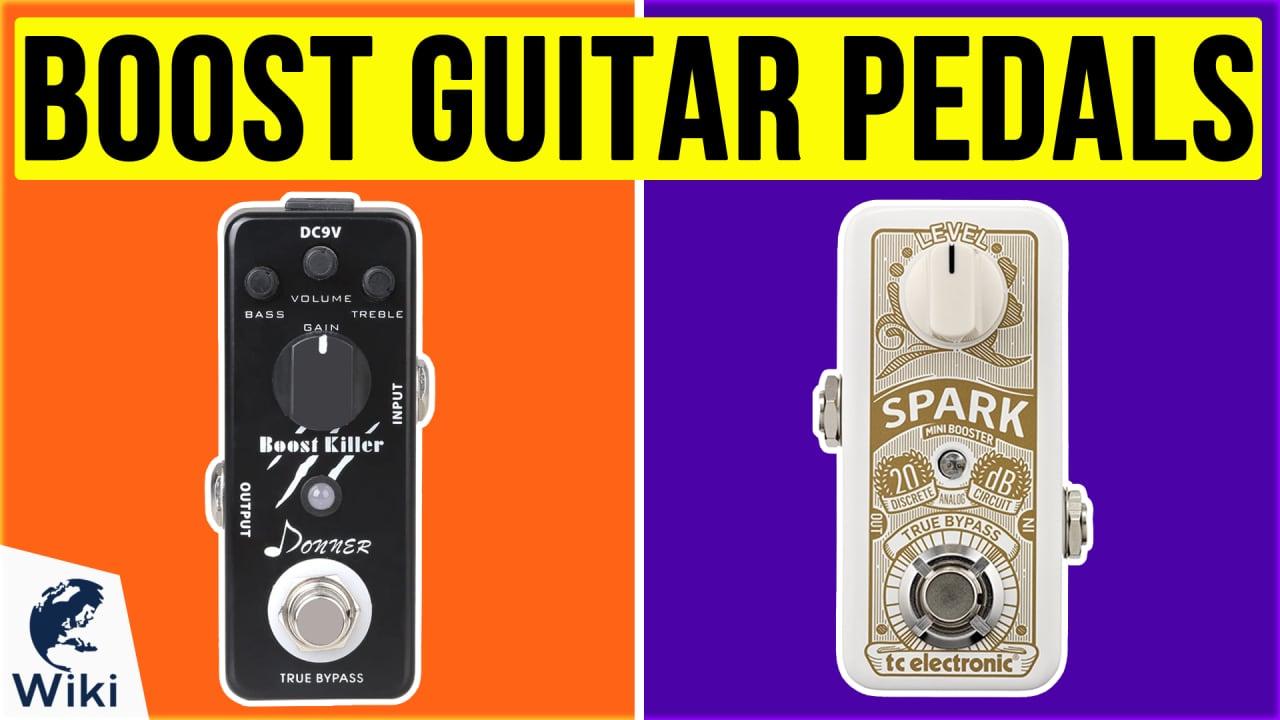 10 Best Boost Guitar Pedals